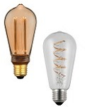 LED ST Edison lamps